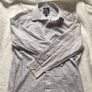 Men's button down long sleeve Stafford Shirt